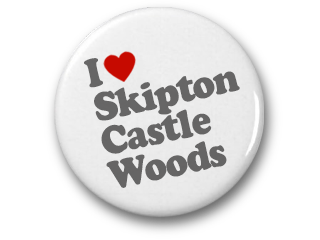 I love Skipton Castle Woods
